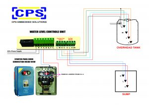 automatic water level controller wiring diagram